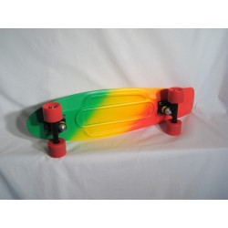 "Penny Vinyl/Plastic Cruiser Board 27"" Fades Series Green/yellow/"