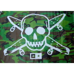 "Banner Fourstar ""Pirate"" Camo"