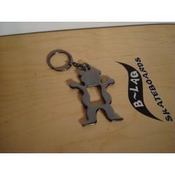 Grizzly Keychain Bottle Opener Flaschenöffner Online Skateshop