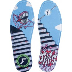 Footprint Insole Impact King Foam Skateboard Online Skateshop Aaron Jaws Homoki