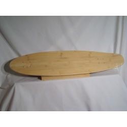Double Bamboo Longboard Deck