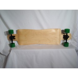 Woodbark Longboard - Drop Down Cloud Complete