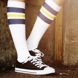 Spirit of 76 Oldschool Tube Socks navy Sunnys on white