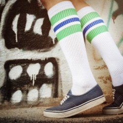 Spirit of 76 Oldschool Tube Socks Light Green Royals