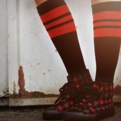 Spirit of 76 Oldschool Tube Socks peperoni Peperonis on black