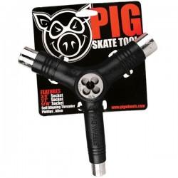Pig Skate-Tool mit Gewindeschneider