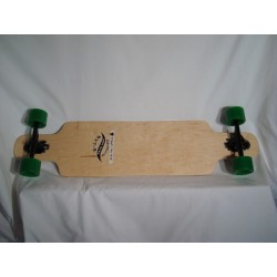 B-LAG - Drop Through 9.5 inch Komplett-Longboard