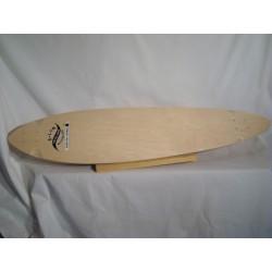 B-LAG Longboard Deck - California Pintail 10 inch