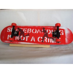 "Komplettboard Bullet ""Crime Serve & Protect"" 7.75 inch"