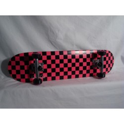 Komplettboard Speed Demons Checkered Black/Pink 7.5 inch