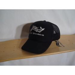 B-LAG Skateboards Trucker Cap Black