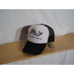 B-LAG Skateboards Trucker Cap Black