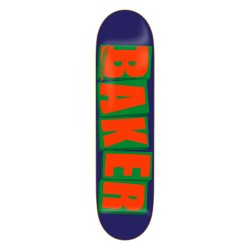 Baker (8.20 inch) Brand Logo Navy Orange