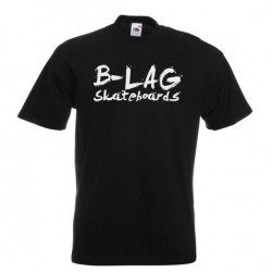 B-LAG Skateboards Premium T-Shirt Black