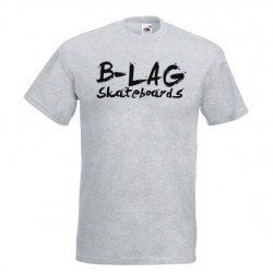 B-LAG Skateboards Premium T-Shirt Grey