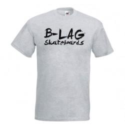 B-LAG Skateboards Premium T-Shirt Grey