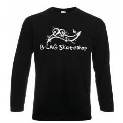 B-LAG Skateshop Longsleeve Black