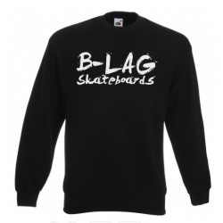 B-LAG Skateboards Pullover Black