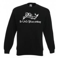 B-LAG Skateshop Pullover Black