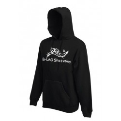 B-LAG Skateshop Hooded Sweater Black