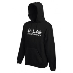 B-LAG Skateboards Hooded Sweater Black