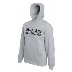 B-LAG Skateboards Hooded Sweater Grey