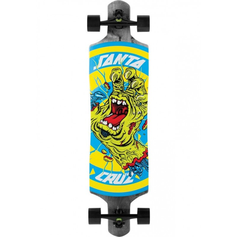 Santa Cruz Longboard Rob Hand Foot Stop Dropthrough