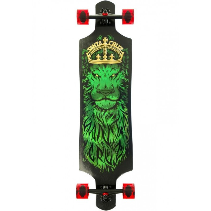 Santa Cruz Longboard Lion God DT Tie-Dye Dropthrough