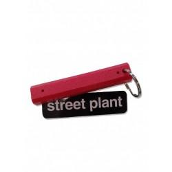 Street Plant Curb Key Chain Parking Block Red
