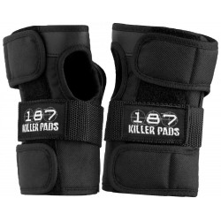 187 Killer Pads Wristguards Black