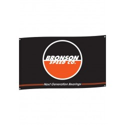 Banner Flag Bronson Speed Co. Flagge Fahne