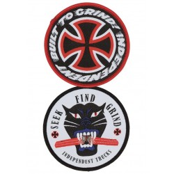 "Independent Patch ""2 Piece Round"""