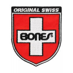 "Bones Patch ""Swiss Shield"""