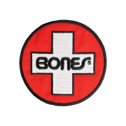 "Bones Patch ""Swiss Circle"" 3inch"