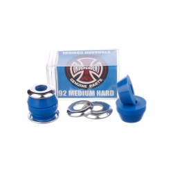 "Independent Bushings Set Low Conical 92a Medium Hard ""Blue"""