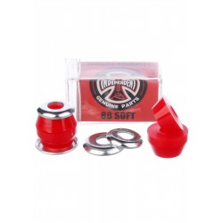 "Independent Bushings Set Conical 88a Soft ""Red"""