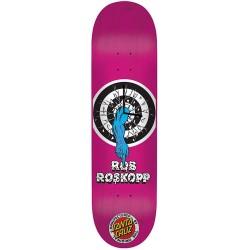 Santa Cruz Rob Roskopp Target 1 Deck Clock Uhr Deck Pink
