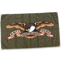 Banner Anti Hero Eagle Green Flagge