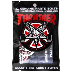Independent X Thrasher Kreuz/Phillips Mounting Kit 1inch Montage Schrauben
