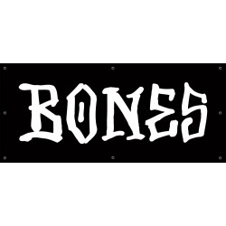 Banner Bones Wheels Black White