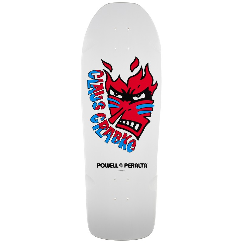 Powell Peralta (10 inch) Claus Grabke Fame Face Oldschool Reissue Deck