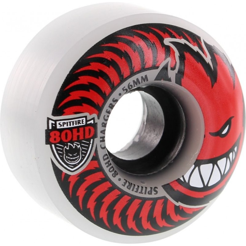 Spitfire (56mm) Charger Classic Clear 80a Rolle