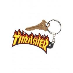 Thrasher Flame Logo Keychain Schlüsselanhänger