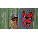 Powell Peralta (10 inch) Claus Grabke Fame Face Silver Signed Limited Edition Oldschool Reissue Deck