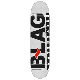 B-LAG Skateboards Deck (7.50-8.75) Concrete Logo