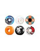 Skateboard Wheels von Bones, Spitfire, Powell-Peralta, Ricta, Pig...