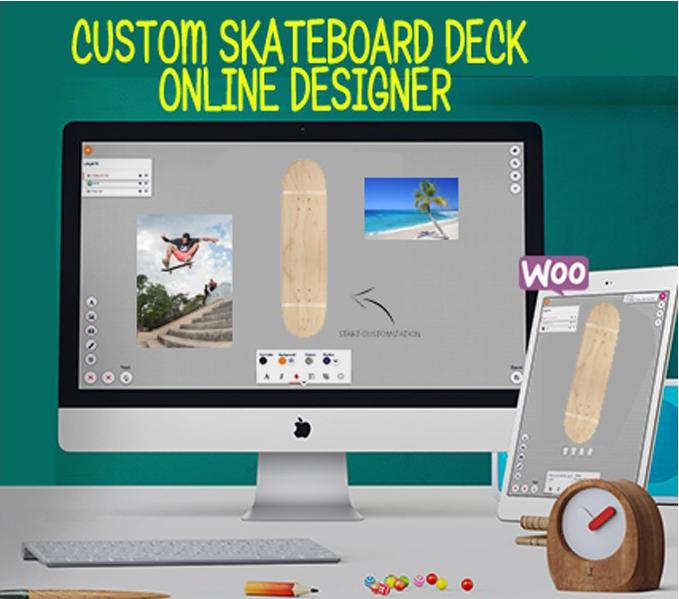 Custom Skateboard Deck selbst gestalten mit dem Online Designer